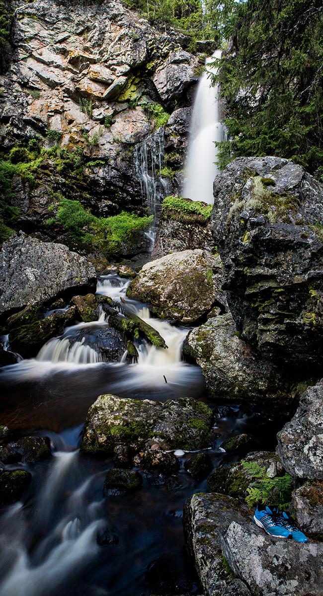 Vattenfall i Fjällen
