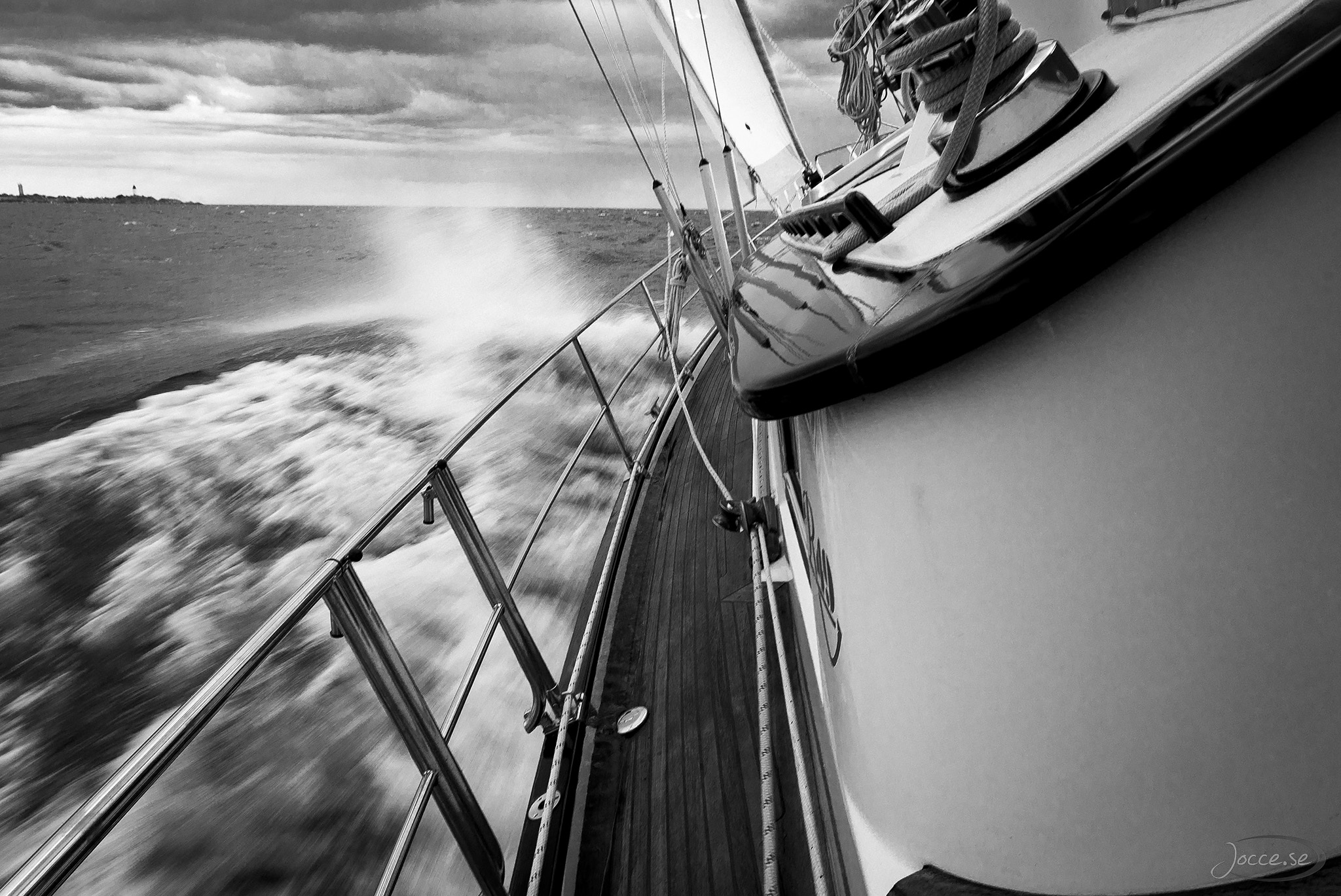 Hård segling
