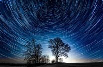 First Star Trails
