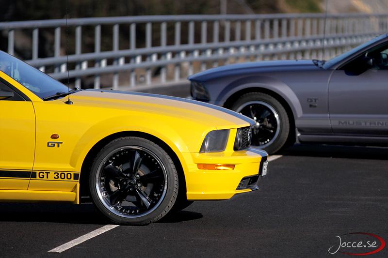 Mustang GT x2