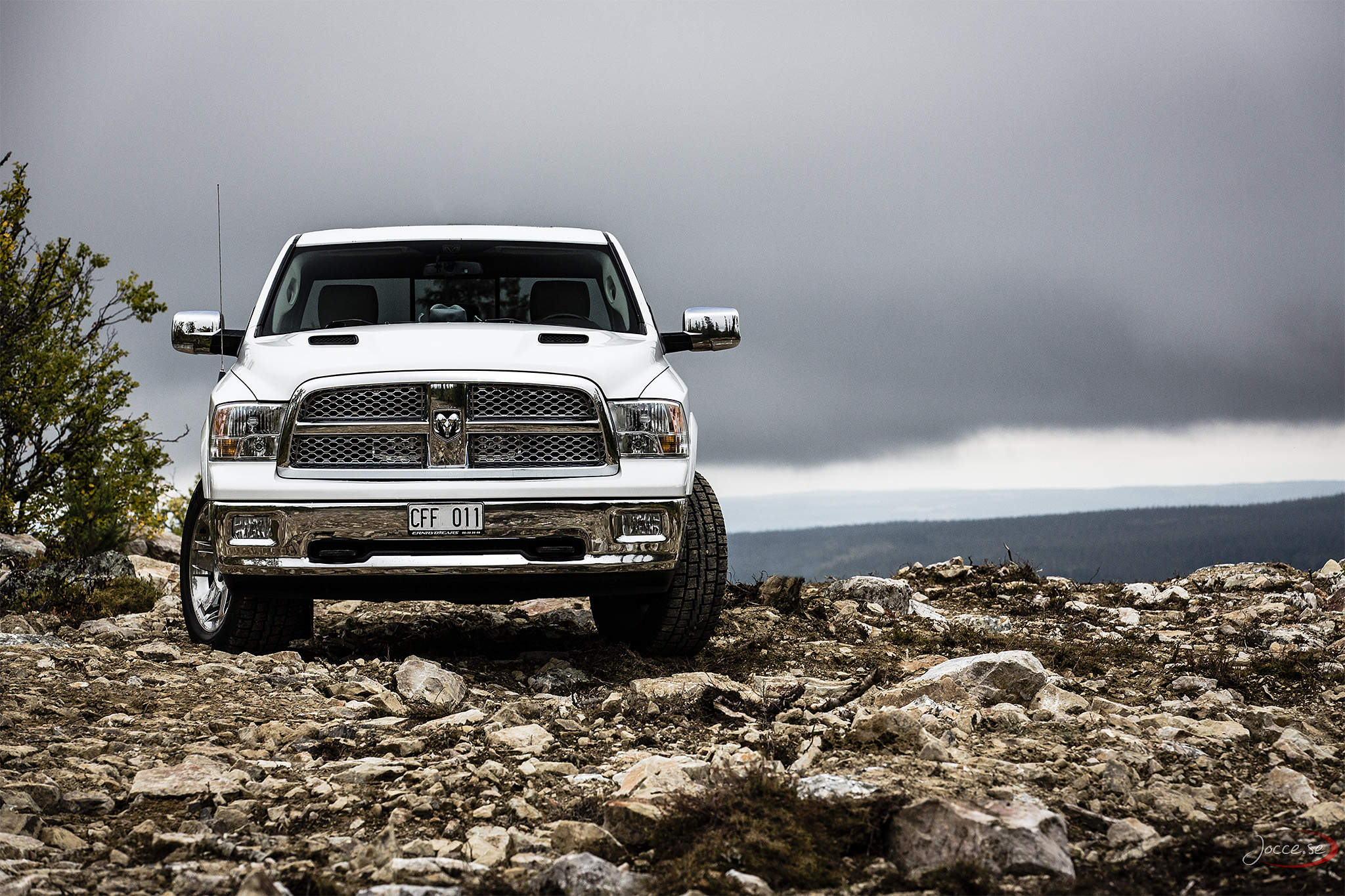 Dodge Ram i Svenska Fjällen
