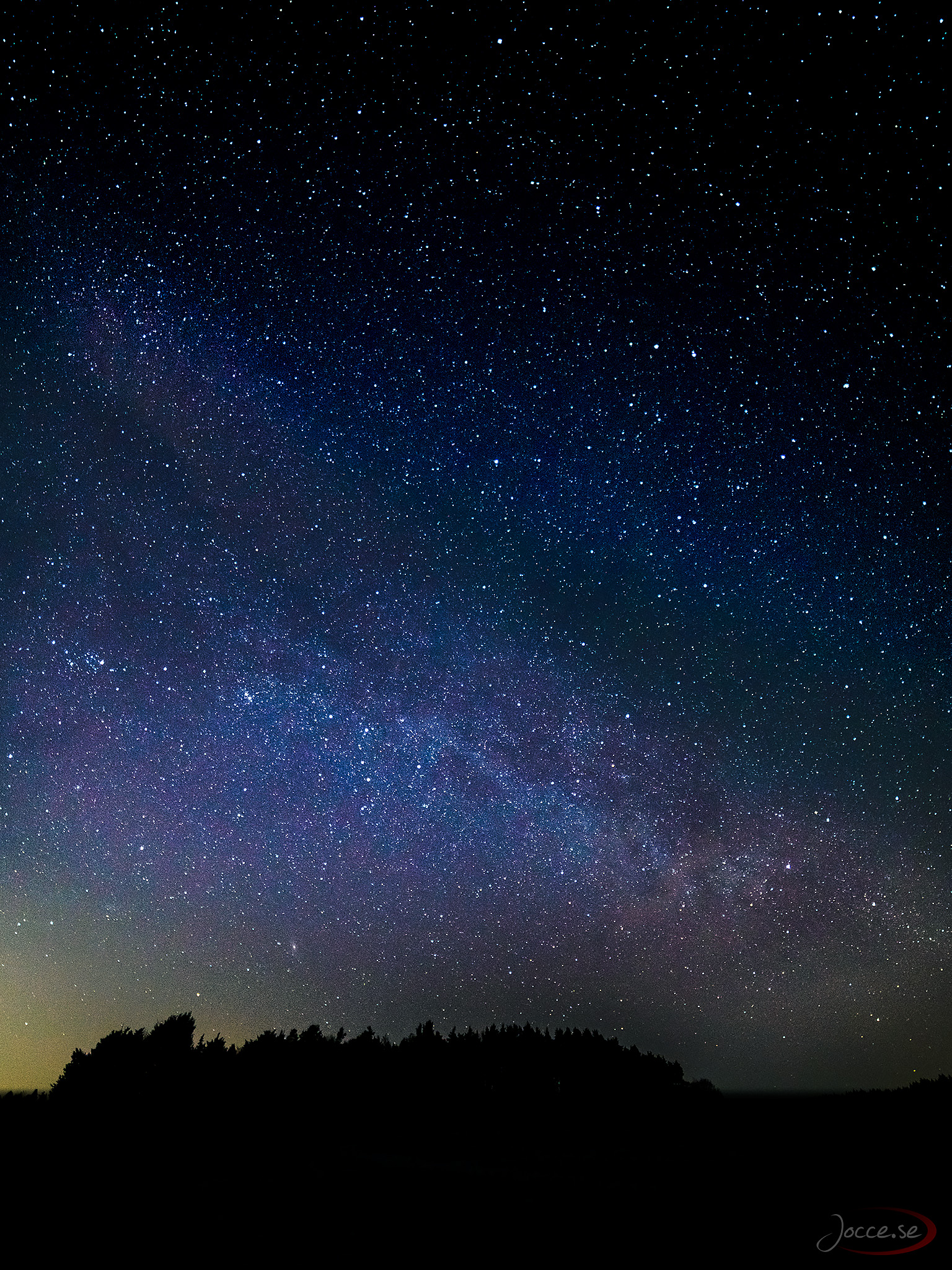 Vintergatan – Tidigt på säsongen