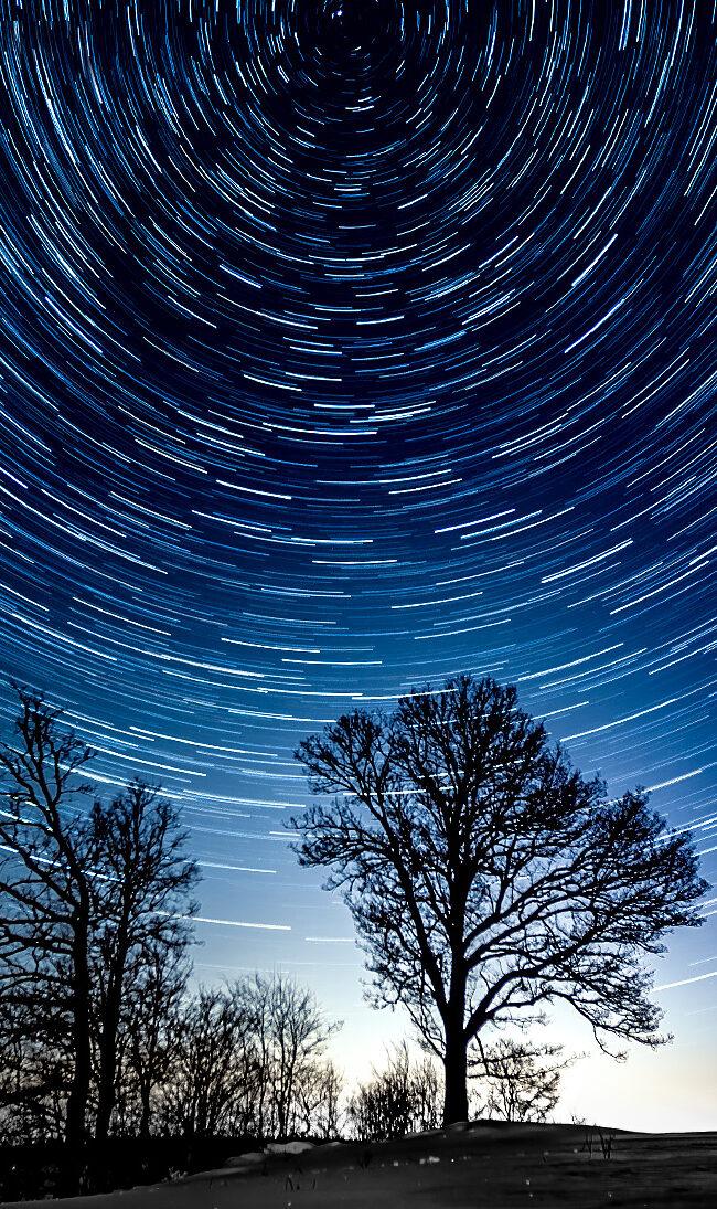 First Star Trails